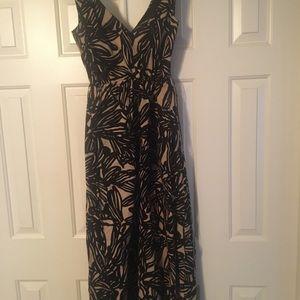 Ladies ankle length sun dress v no zipper back NEW